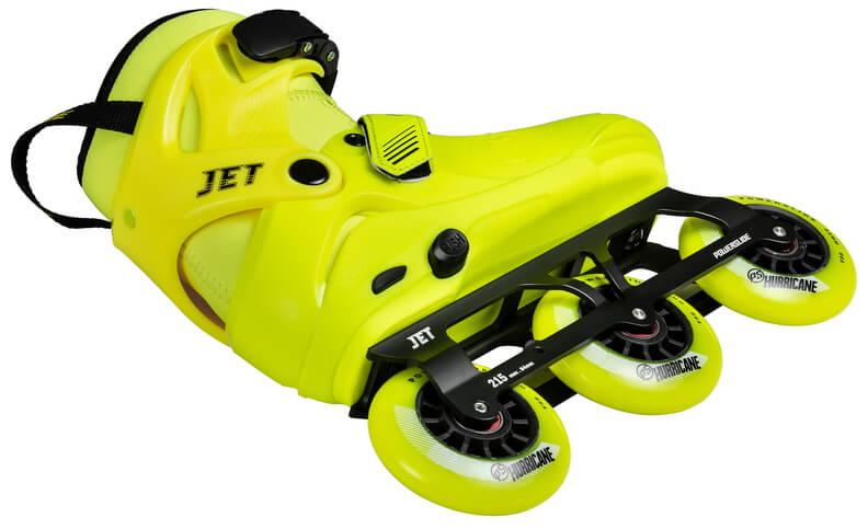 Ролики Powerslide Phuzion Jet, желтые
