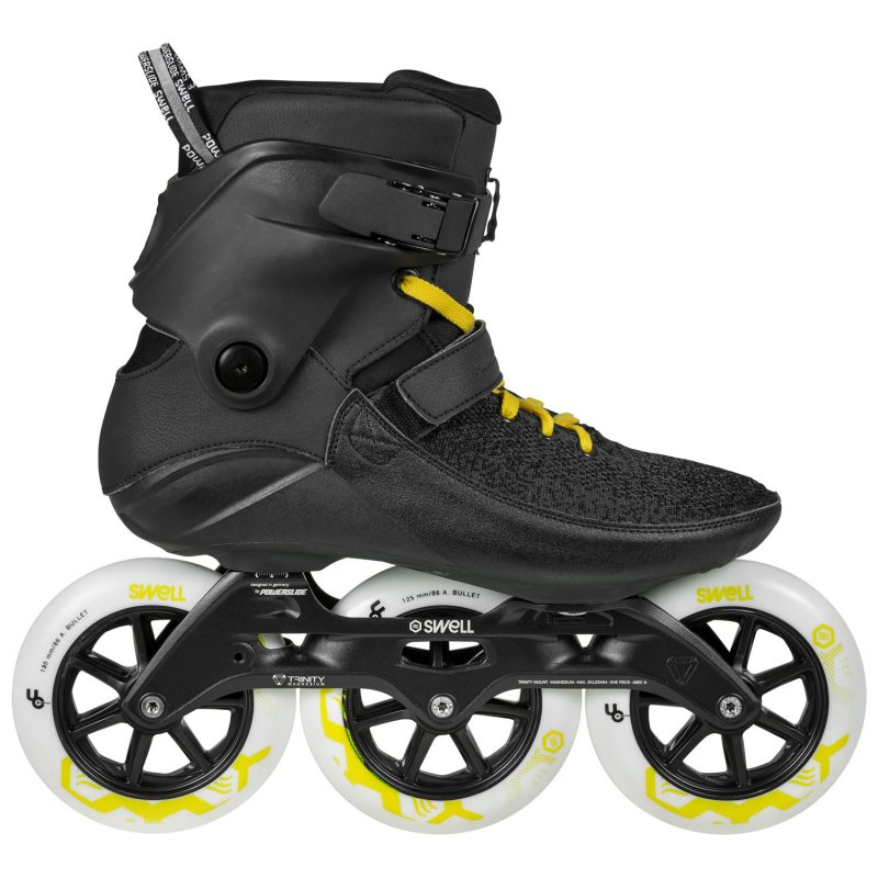 Ролики Powerslide Swell Black City 125 TRI