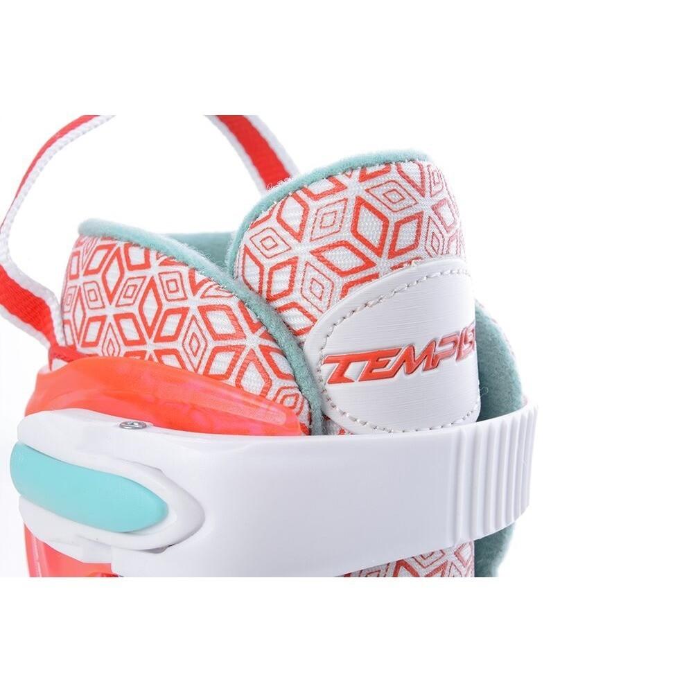 Коньки раздвижные Tempish RS VERSO ICE GIRL Red