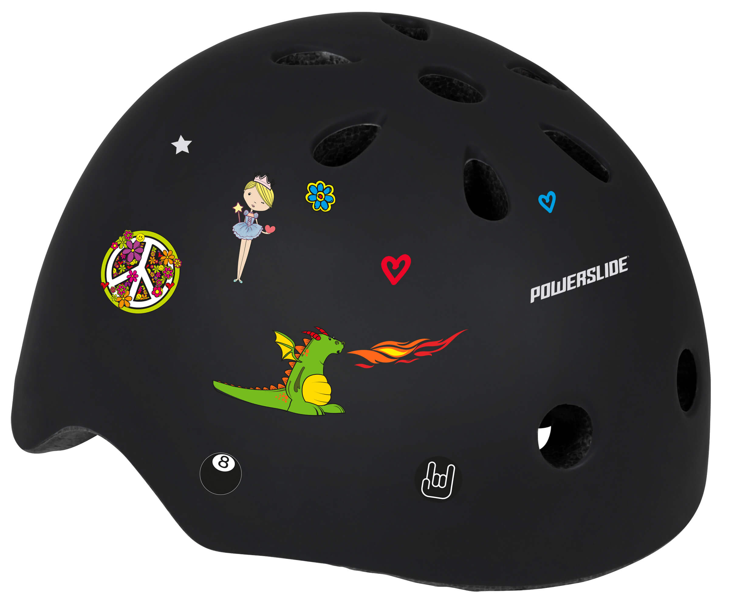Шлем Powerslide Allround Kids черный