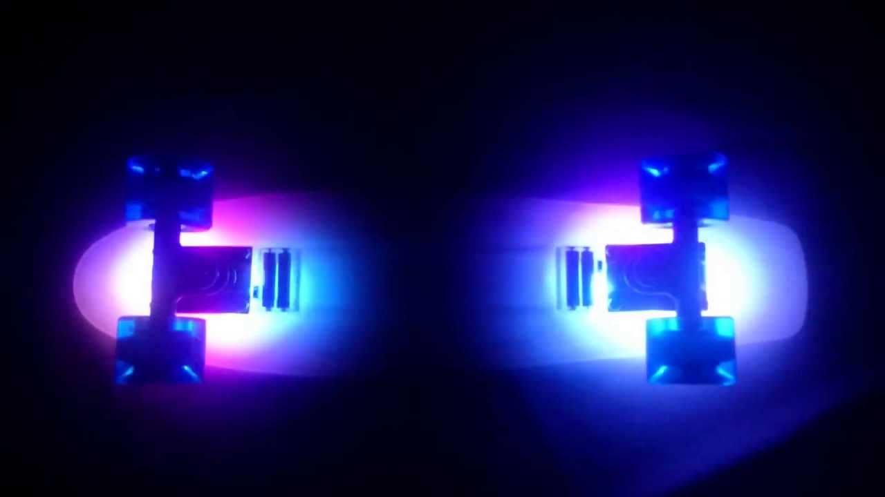 Пенни борд Tempish BUFFY FLASH LED