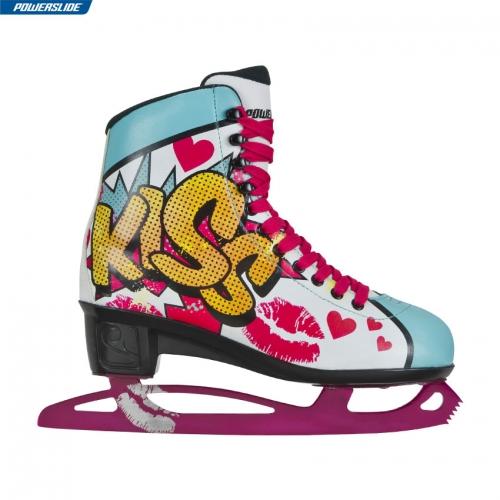 Коньки фигурные Powerslide Pop Art Kiss