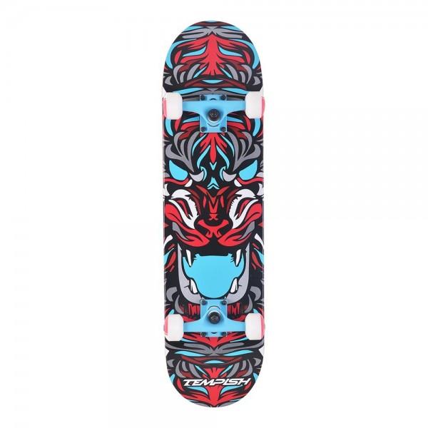 Скейтборд Tempish Tiger сине-красный