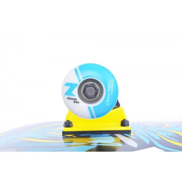 Скейтборд Tempish TIGER сине-жёлтый