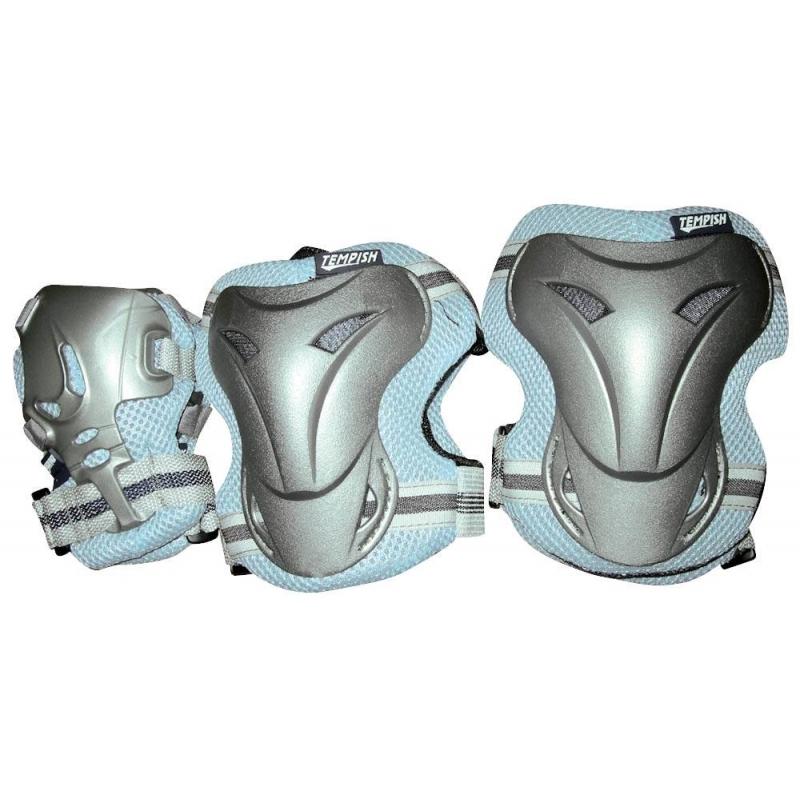 Комплект защиты Tempish JOLLY 3 серо-голубой