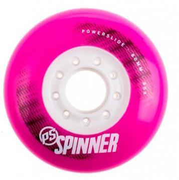 Колеса Powerslide Spinner 80мм/85A pink, 4 шт.