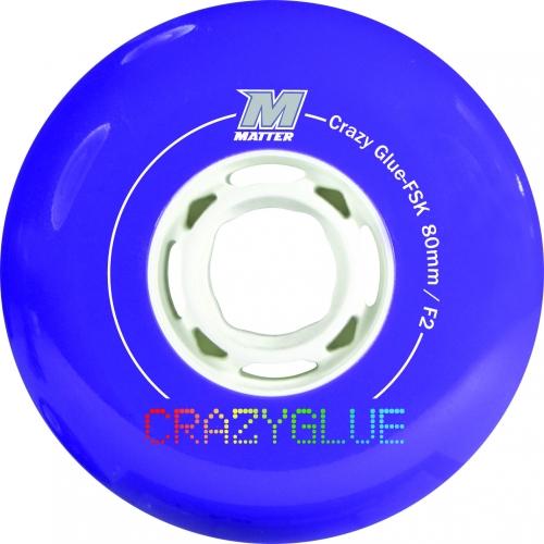 Колеса Matter Crazy Glue FSK 80 мм F2 4 шт.