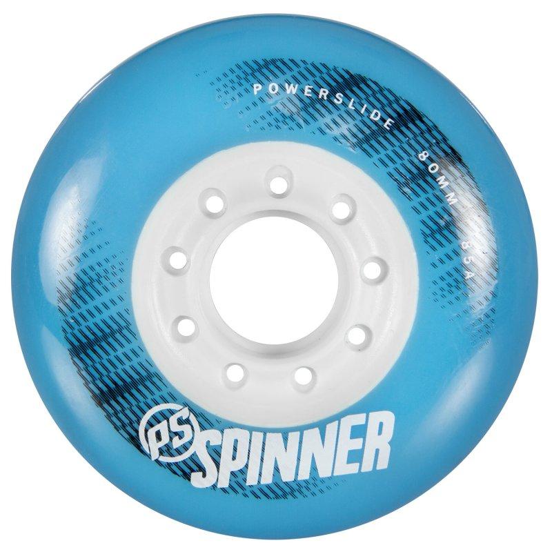 Колеса Powerslide Spinner 80мм/85A cyan, 4 шт.