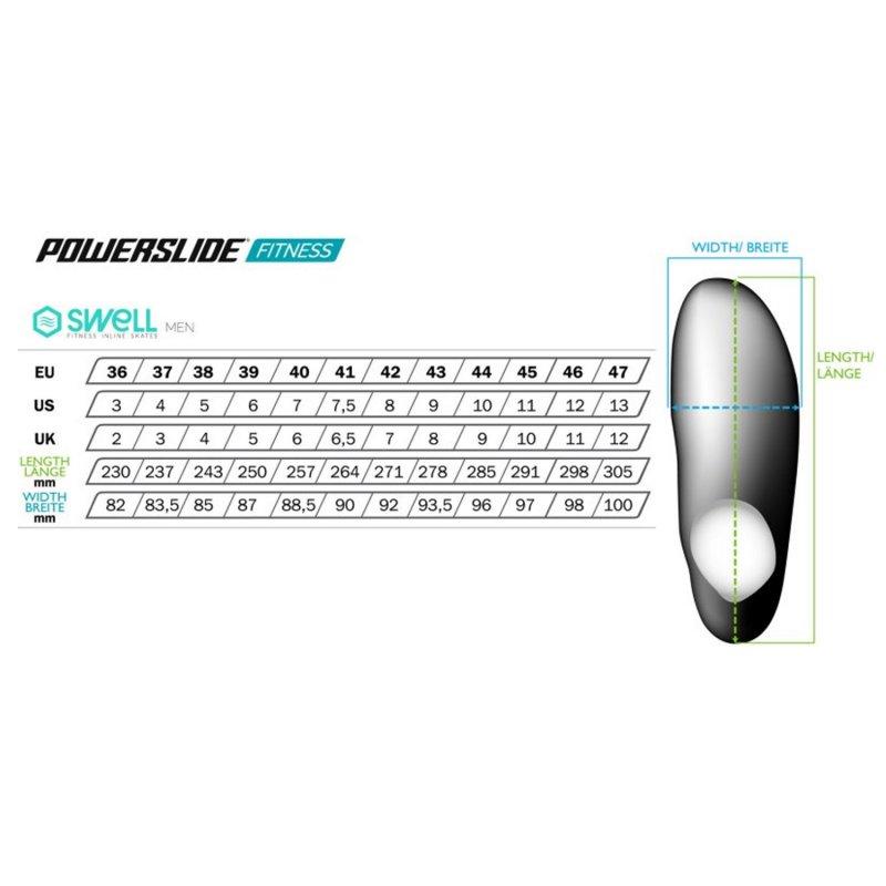 Ролики Powerslide Swell 100