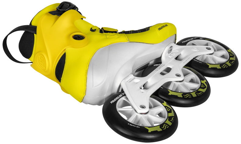 Роликовые коньки Powerslide Swell Firefly 125 мм