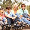 Как научить ребёнка кататься на роликах?