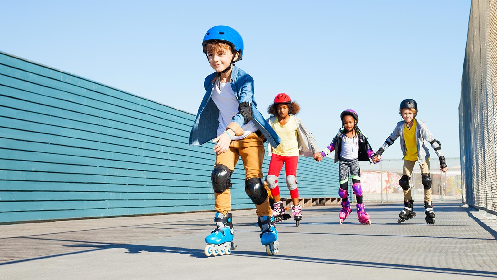 Обзор на серию роликовых коньков Tempish Baby Skate