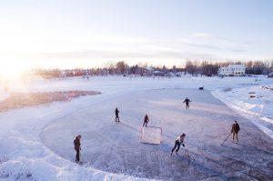 Как подобрать хоккейные коньки?