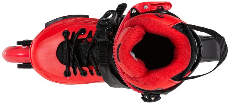 Роликовые коньки Powerslide Khaan Jr. LTD красные