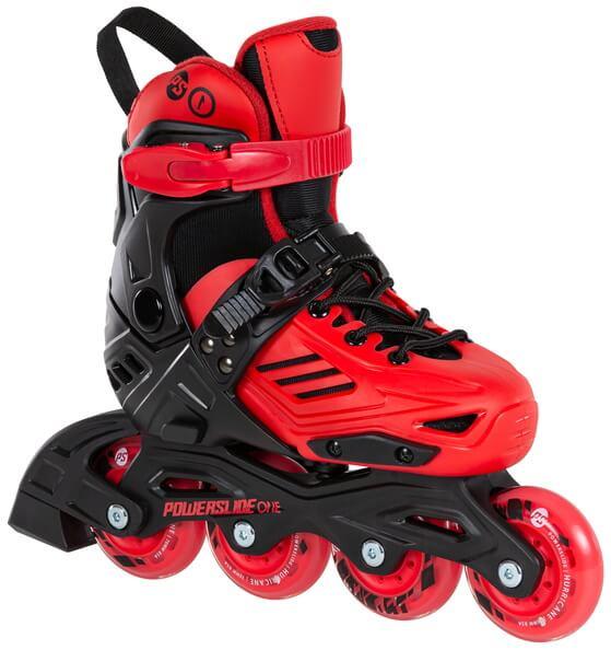 Роликовые коньки Powerslide Khaan Jr. LTD красные (2020)