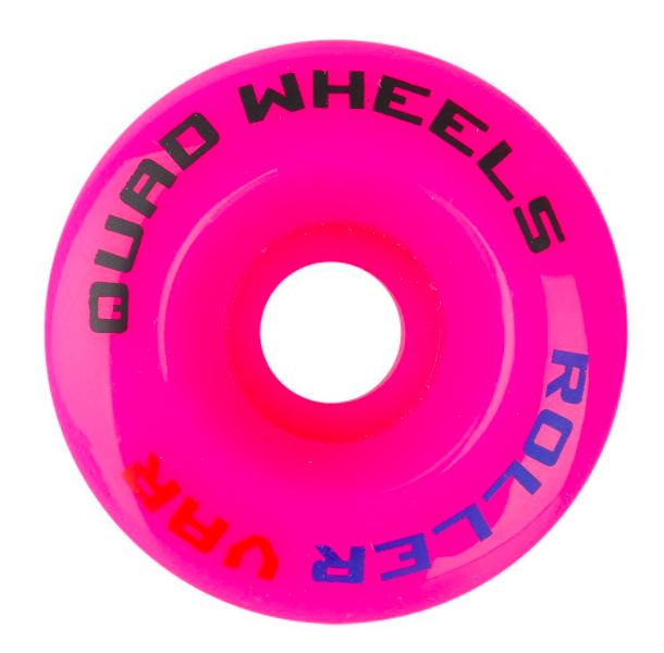 Колеса для роллерных коньков Tempish QUAD, 58x32, розовые