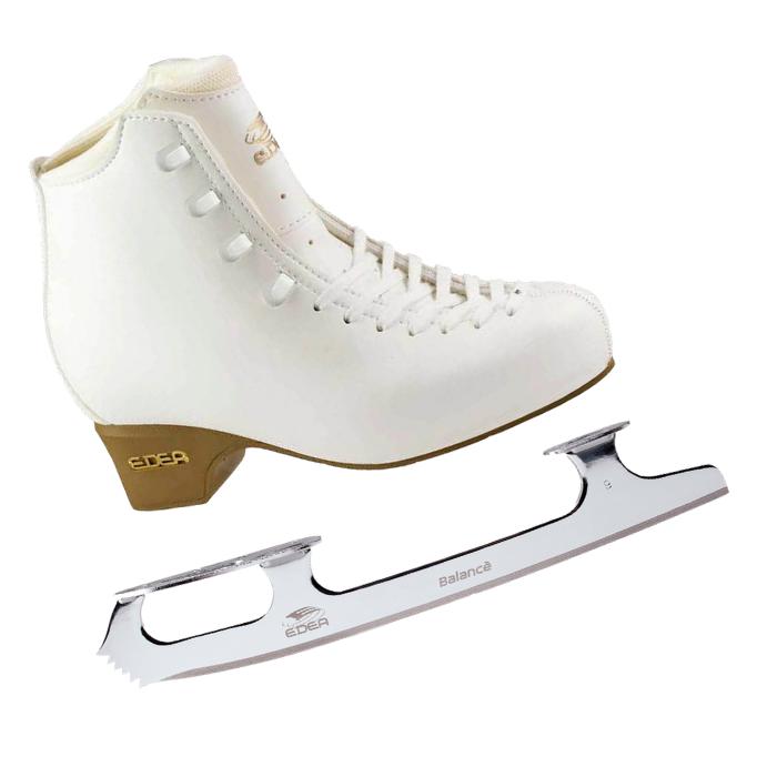 Фигурные коньки EDEA Tempo Ivory с лезвиями Balance