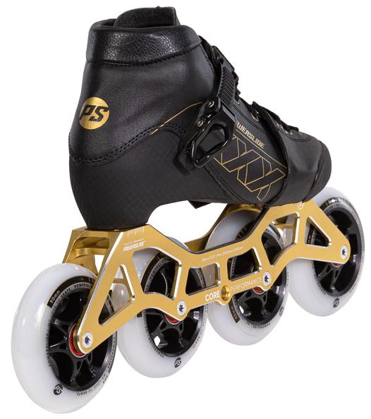 Детские роликовые коньки Powerslide XXX золотые