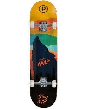 Скейтборд Playlife Firce Wolf