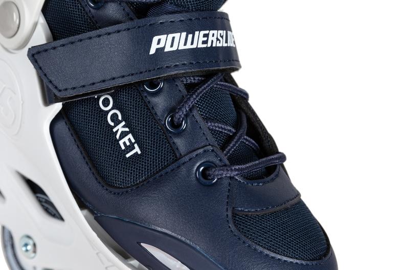 Детские роликовые коньки Powerslide Rocket синие